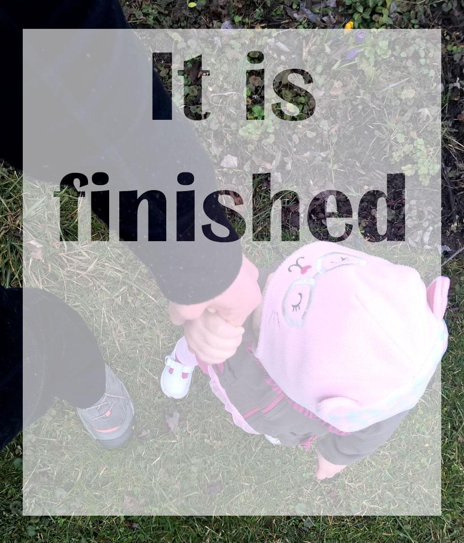 itisfinished