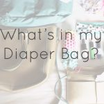 Everything but the Kitchen Sink//What's in my Diaper Bag?